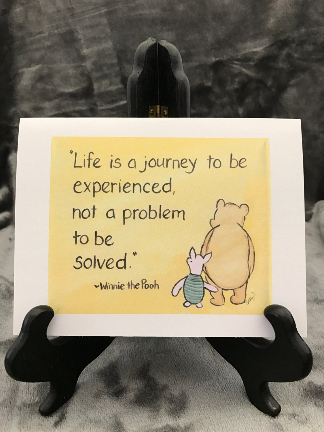 Winnie The Pooh Quotes About Life Encouragement Card Life Journey Meaning Of Life Is A Journey