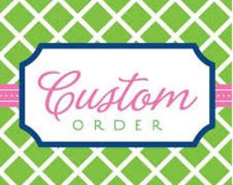 Custom Embroidery Onesie