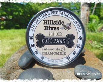 Natural Dog Care - Ruff Paw Balm - repairs and conditions rough paws