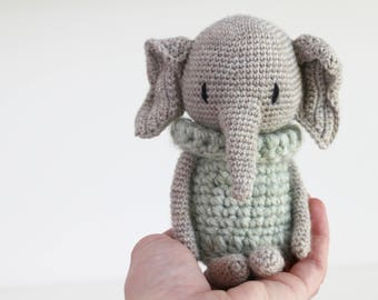 LuiPhant Amigurumi crochet pattern LuiLuh.handmade elephant PDF