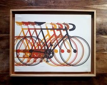 William Omurcada Signed Serigraph, William Omurcada Art, Pop Art,  Modern Art, American Art