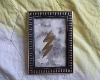 Lightening bolt painting