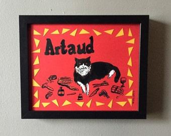 Custom Pet Portrait, Original Drawing of your Cat, Dog, Bird