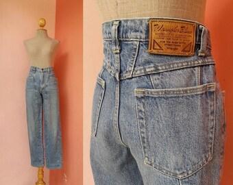 WRANGLER Jeans 29 Waist | Vintage Jeans Women | Womens Jeans Vintage | High Waisted Jeans | Denim Pants Medium M