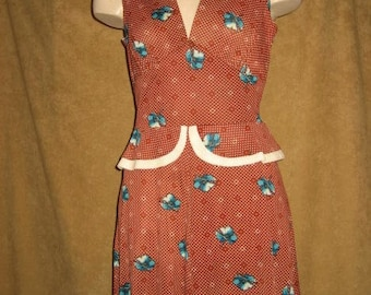 Young Innocent by Arpeja Dress S 70s Vintage