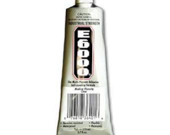 E6000 3.7oz Industrial Strength Glue Adhesive