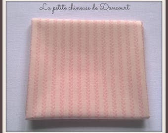 Pink ears Tilda fabric coupon