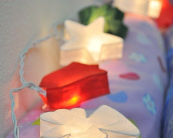 Christmas mulberry paper Lanterns for Party and Decoration (20 bulbs)