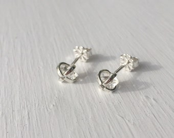 Herkimer Diamond Earrings - Sterling Silver
