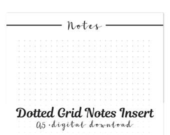 Dotted Grid Paper Printable 5mm Moleskine Leuchtturm