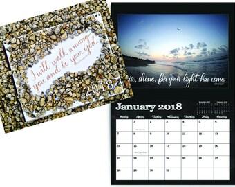 12-month wall calendar
