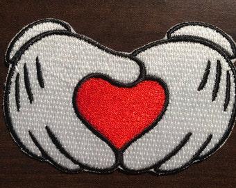 Heart Hands Patch