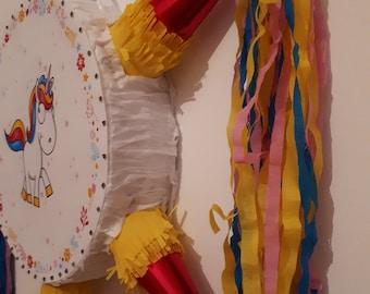 Unicorn star piñata