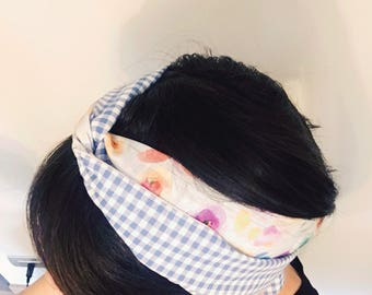 Hair Turban Double-face band