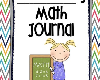 Common Core Math Journal for First Grade - Number of the Day & Problem Solving