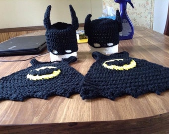 Batman d'inspiration cape et chapeau