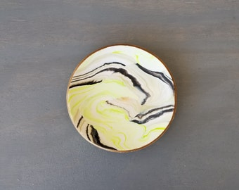 It's Electric Marbled Ring Dish