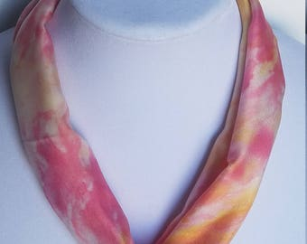 NK 53 - Handpainted Silk Necklace