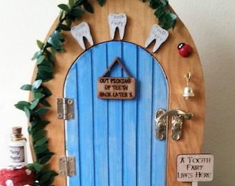 Fairy door - Blue Toothfairy