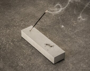 Concrete Incense Holder