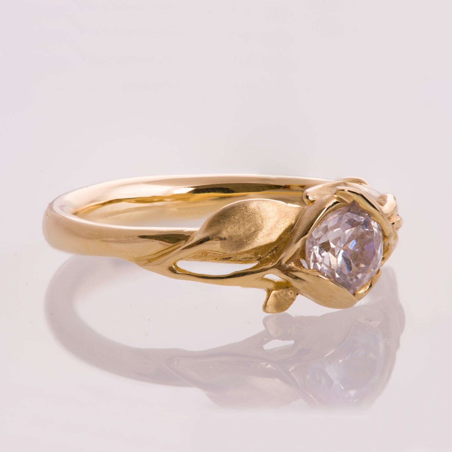 best gold leaf rings wedding rose ori ring of