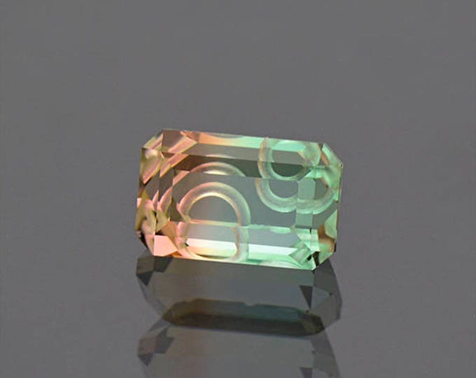 FLASH SALE! Spectacular Tri Color Tourmaline Gemstone from Mozambique 3.56 cts.