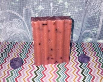 Orange Patchouli soaps - Citrus Patchouli soap - Organic Shea butter soaps - Patchouli soap - Orange soap - Handcrafted soap