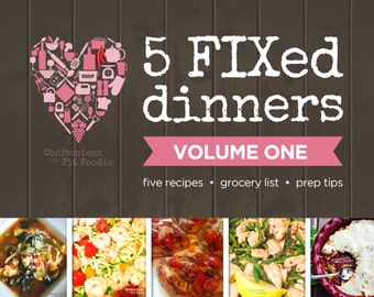 5 FIXed Dinners - Volume 1