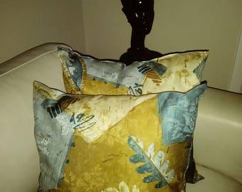 Beige and Blue Muilt Color