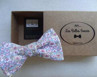 Knotted bow cotton fabric Gaston