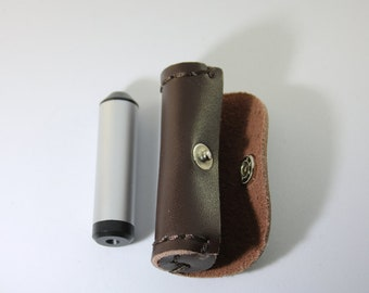 Dichroscope, Brand New, With Leather Case, Jewelry Tool, Gemological Tool, Identifies Glass, Doubly Refractive Gemstones