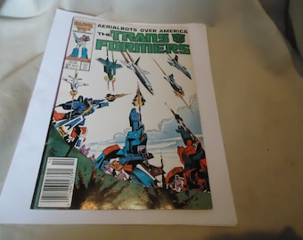 Vintage 1986 Aerialbots Over America The Transformers Oct #21 Marvel Comic, collectable