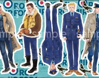 Dunkirk sticker set