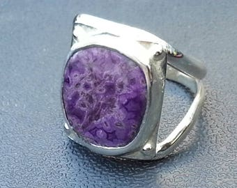 Sugilite Ring Size # 10.5