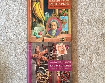 Unique Bookmark of The Vintage Golden Book Encyclopedia, Children's Books