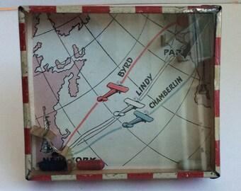 Vintage Airplane Dexterity Game