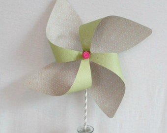 Large Pinwheel Flower Decoration Party Decoration Baby Shower Decor Large Pinwheel Photo Prop Table Centerpiece Birthday Decoration