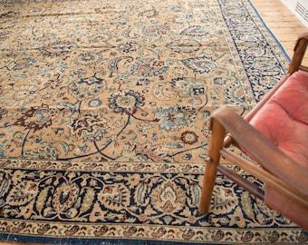 10.5x14 Vintage Meshed Carpet