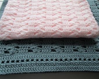 Crochet Patterns, Crochet Baby Blanket, Crochet Blanket Pattern, Throw Blanket, Crochet Afghan Pattern, PDF, Afghan, INTERLOCKING SHELLS