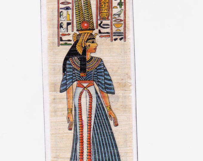 New! Neferari Egyptian Papyrus Bookmarks! Beautiful in design, practical in use. Makes a unique, inexpensive gift!