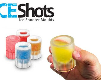 Create your own Flavors - Silicone Shooters Ice Cube Shot Glass Chocolate Candy Soda Freeze Mold Mould Supply