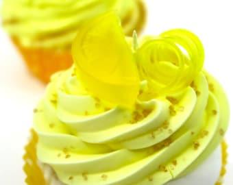 Lemon Cake Cupcake Bath Bombs