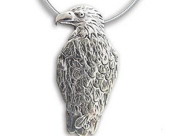 Sterling Silver Eagle Pin Pendant