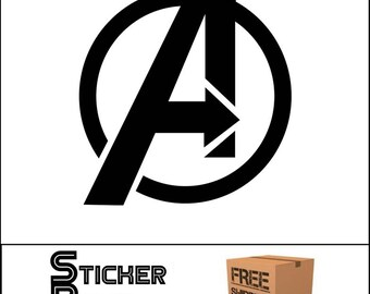 The Avengers Decal Sticker Marvel JDM
