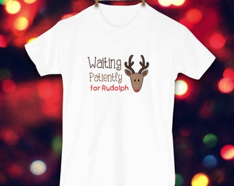 Christmas Shirt, Rudolph the Red Nosed Reindeer, Toddler Clothes, Christmas clothes, Cute Kids Clothes, Holiday Clothes