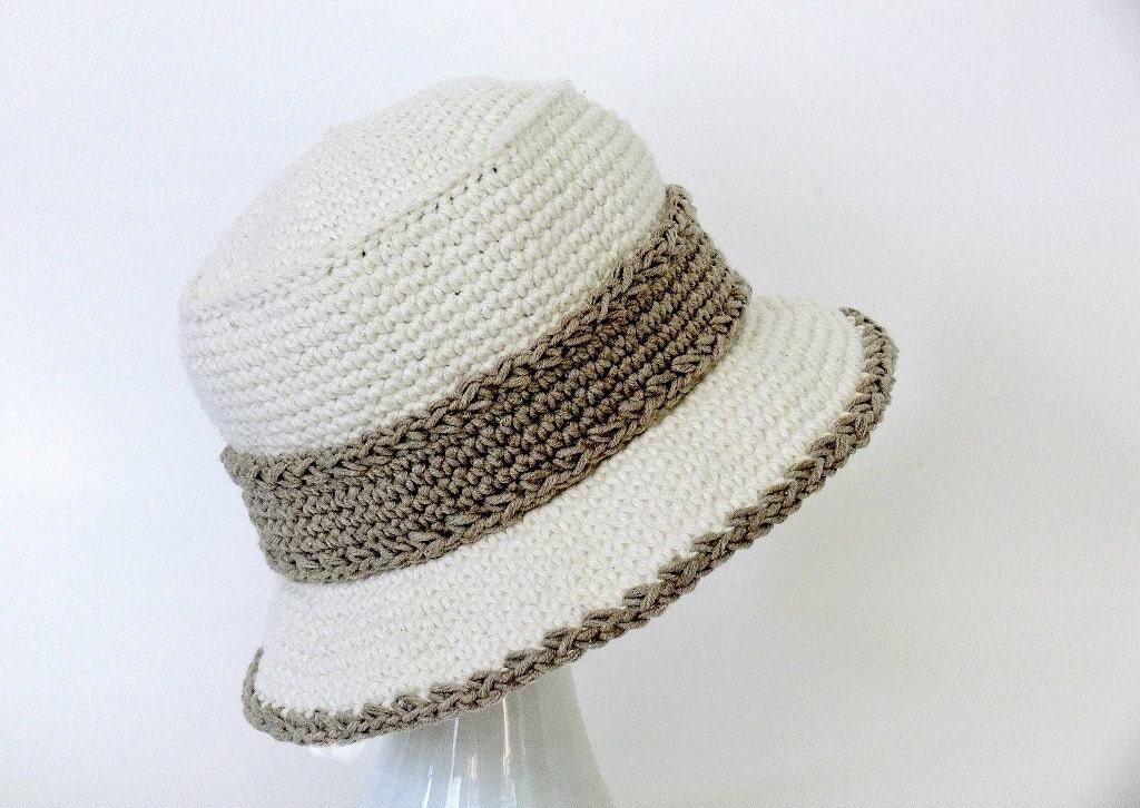 Crochet Pattern - Womens Hat - Bucket Hat - Sun Hat - Winter Hat ...