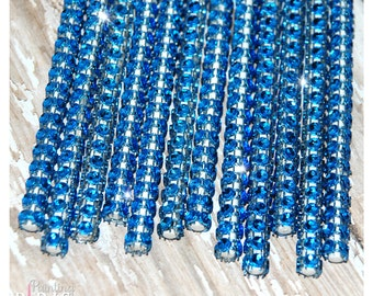 Blue Shimmer Sticks - NEW TREND ALERT - Glam for Lollipops, Cake Pops and All Things Party
