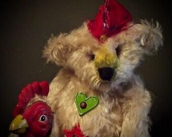Brewster the Rooster & Chicken Man