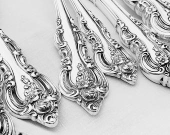 Towle El Grandee Sterling Silver Flatware Ornate Sterling Silverware