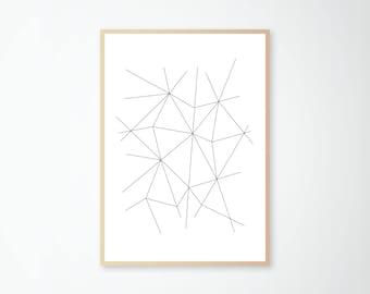 Print minimal lines